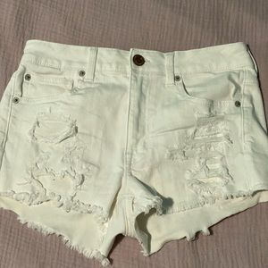 American Eagle Outfitters Shorts - White shorts